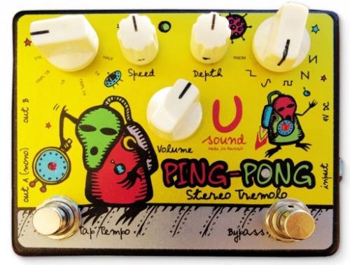 U-Sound Effects Ping-Pong   Pedal Finder, LLC